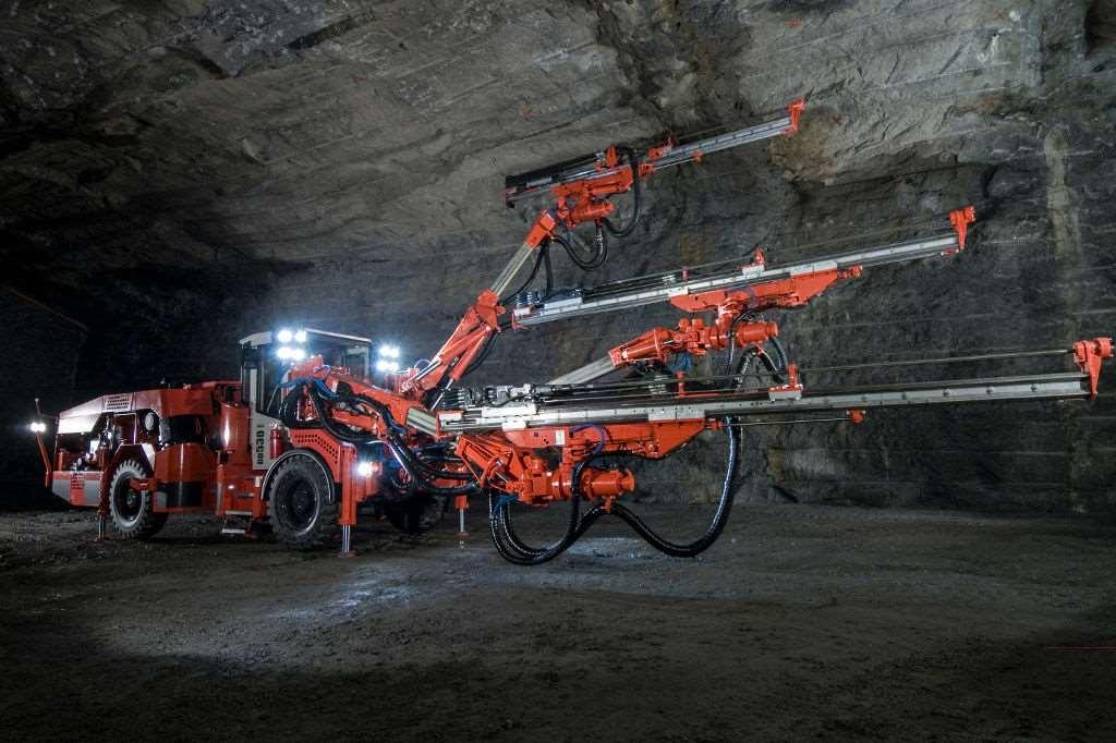 نقشه برداری در معدن و تونل
