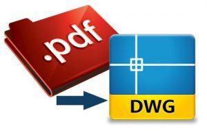 دانلود نرم افزار تبدیل پی دی اف به فایل های اتوکد  Converter PDF to DWG