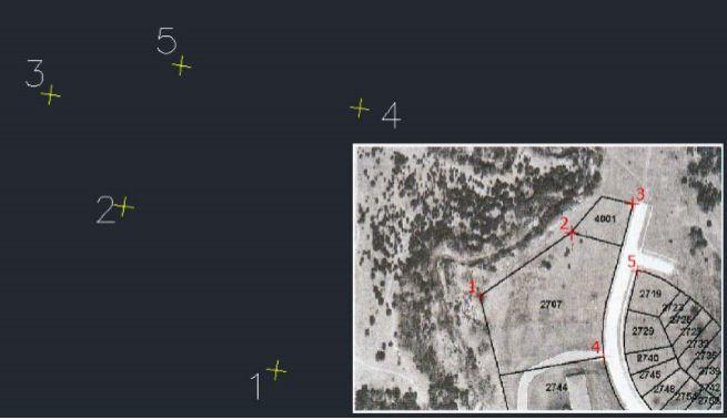 نحوه ژئو رفرنس کردن یک عکس در Civil 3d با استفاده از دستور adersheet