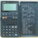 محاسبه زاویه حامل و ژیزمان در ماشین حساب کاسیو fx-4800P