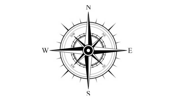 انواع شمال در نقشه برداری