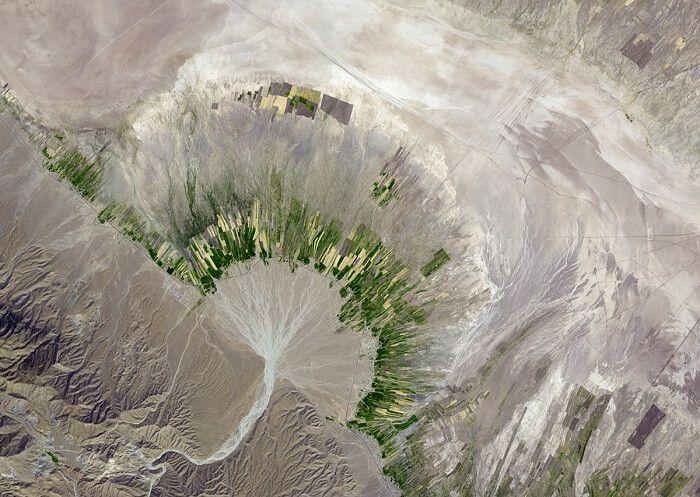 تفسیر عکس هوایی و تصاویر ماهواره ای